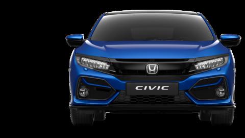 Zadný pohľad na Hondu Civic.