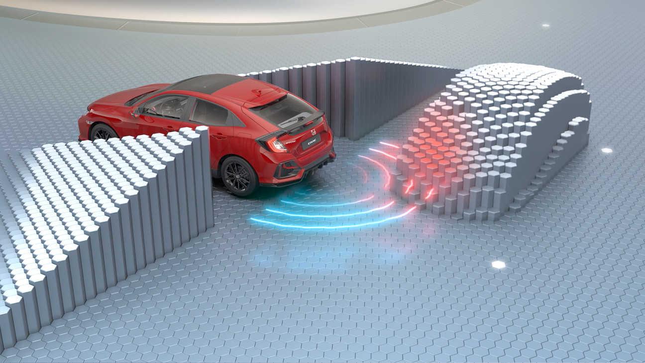 Honda Civic vo virtuálnom štúdiu