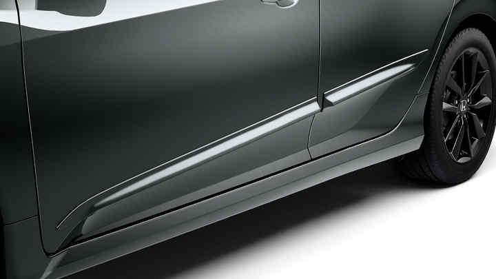 Detailný pohľad na 5-dverovú Hondu Civic s balíkom Protection.