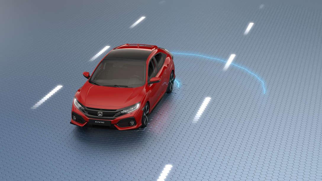 Virtuálna prehliadka modelu Civic.