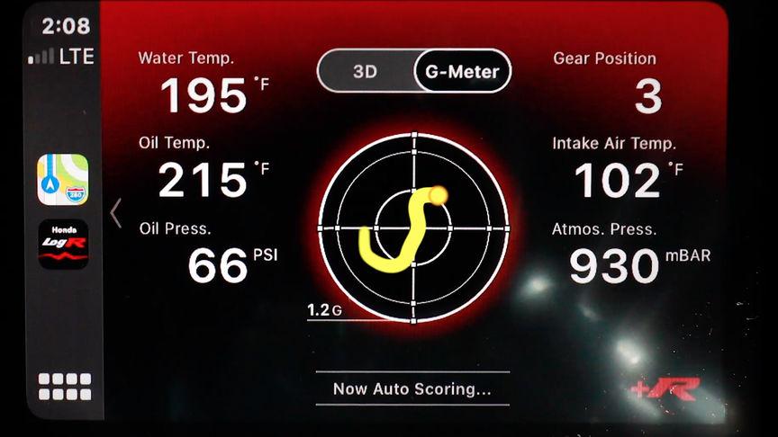 Detailný záber na zobrazenie automatického skóre