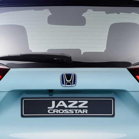 Detailný záber zadnej časti modelu Honda Jazz Crosstar