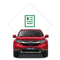 Ilustrácia modelu Honda CR-V zkatalógu.
