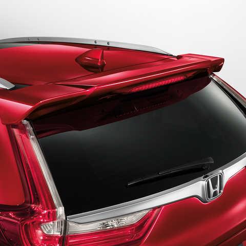 Detailný záber na dvere batožinového priestoru modelu Honda CR-V.