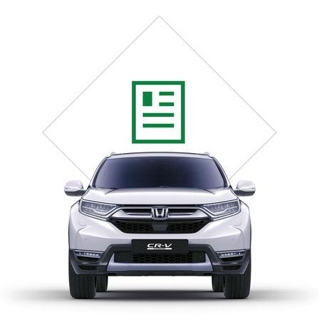 Ikona katalógu kmodelu Honda CR-V Hybrid.