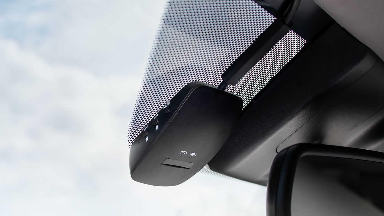 Detailný pohľad na nový záznamník jazdy modelu Honda CR-V Hybrid