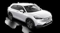 Trojštvrťový záber spredu na model Honda HR-V