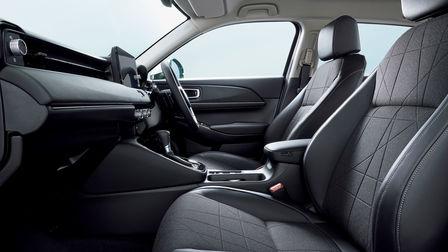 Bočný záber interiéru modelu Honda HR-V