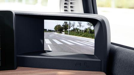 Detail kamery systému spätných zrkadiel