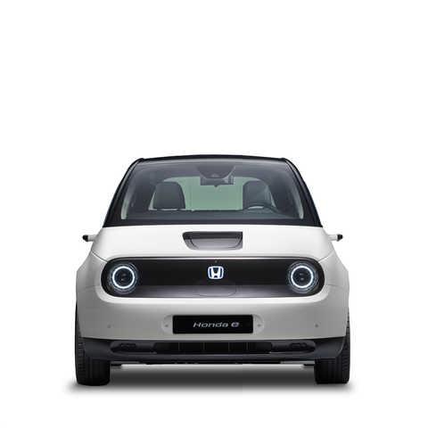 Elektrické vozidlo poháňané energiou z akumulátora Honda E.