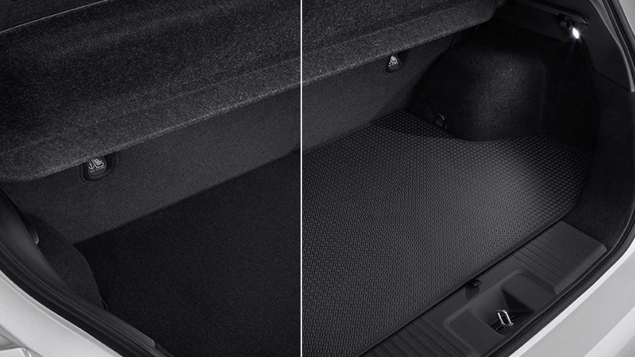 Obojstranná vložka do batožinového priestoru