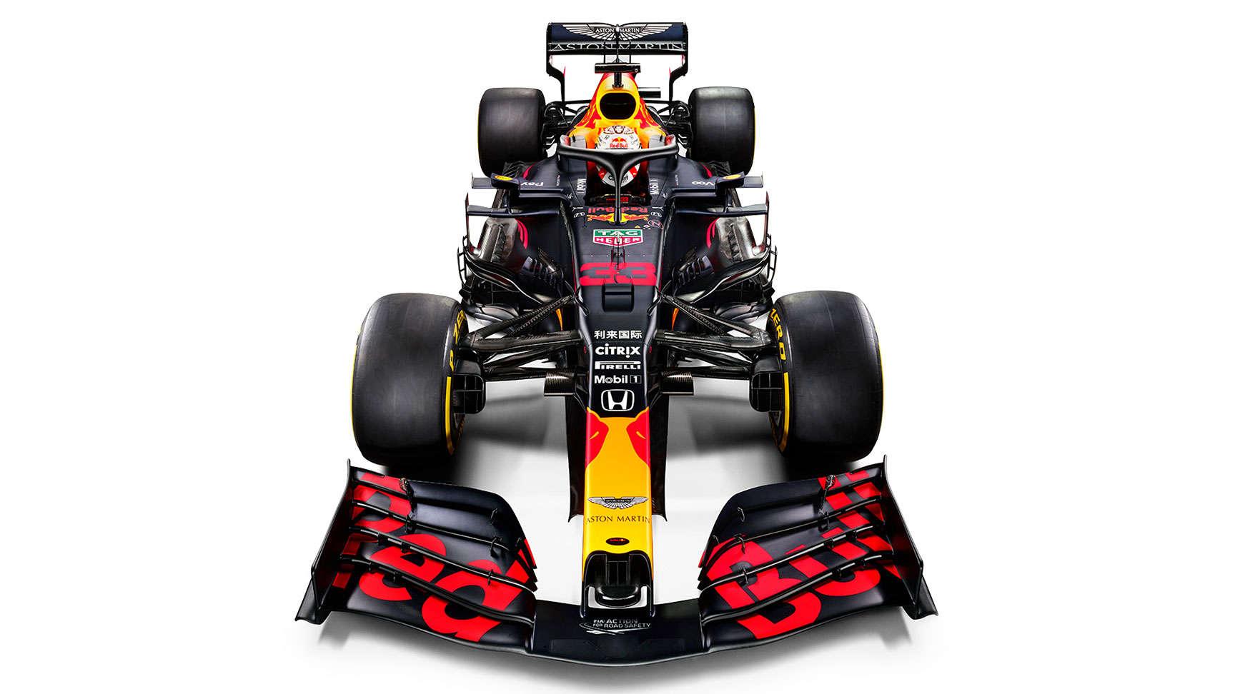 Pretekárske vozidlo RB16
