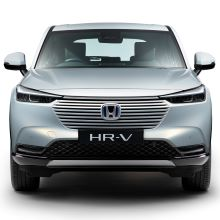 Pohľad spredu na model Honda HR-V Hybrid