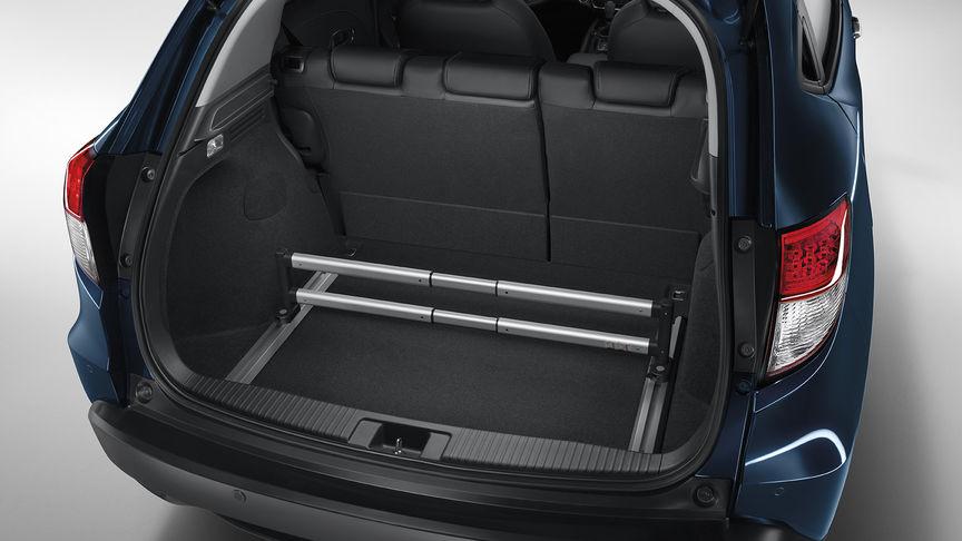 Detailný záber na prémiový organizér batožinového priestoru modelu Honda HR-V.