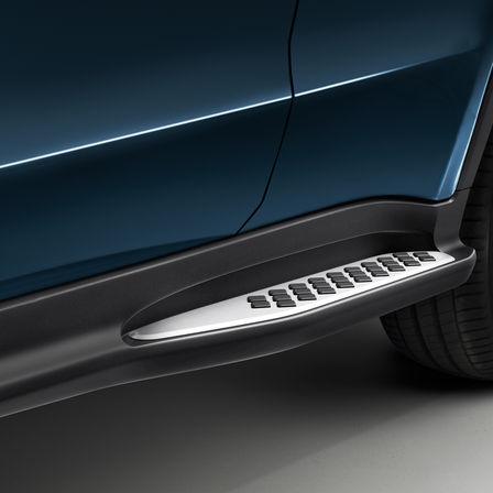 Detailný záber prahu dverí modelu Honda HR-V.