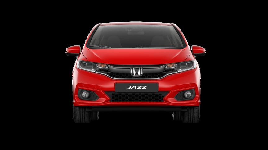 Predný pohľad na model Honda Jazz Dynamic.