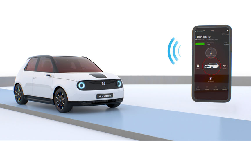 Demonstration of My Honda+ App.