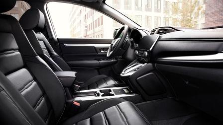 Interiér modelu CR-V