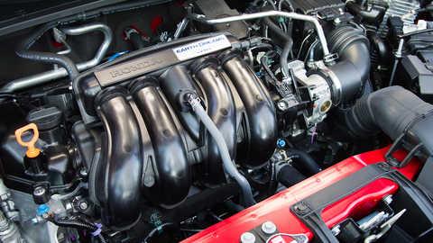 Detail motora Honda.