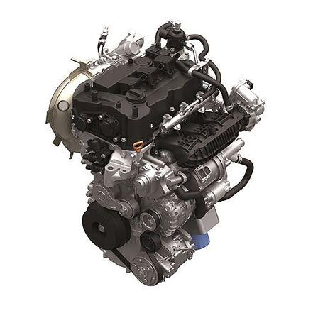 Výrez motora Honda.
