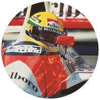 Senna vpretekárskom automobile Honda Formula 1.