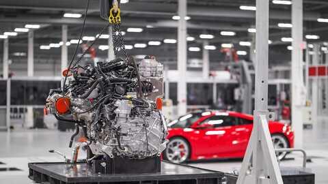 Detail motora Honda NSX.